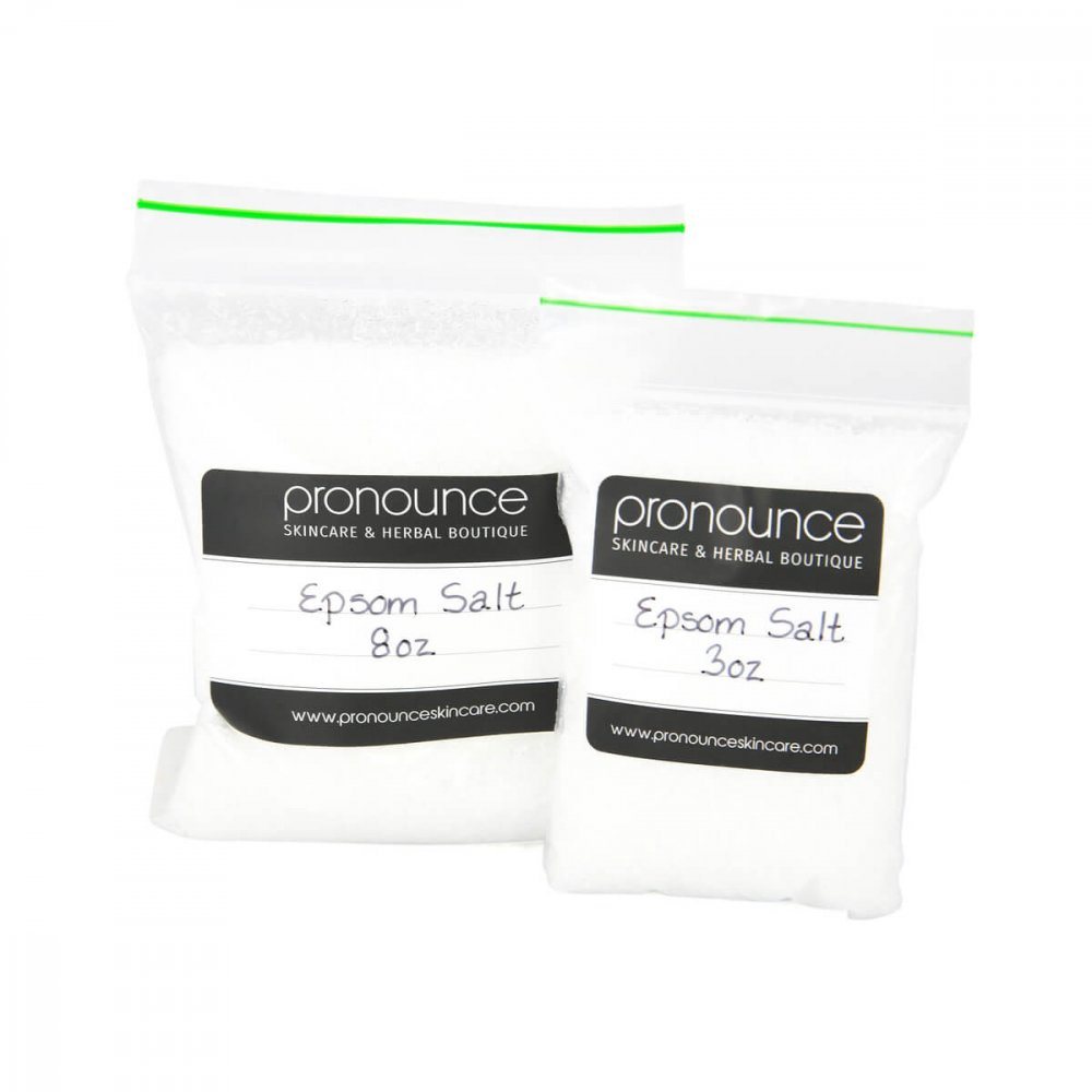 Epsom Salt 2 Sizes Pronounce Skincare & Herbal Boutique