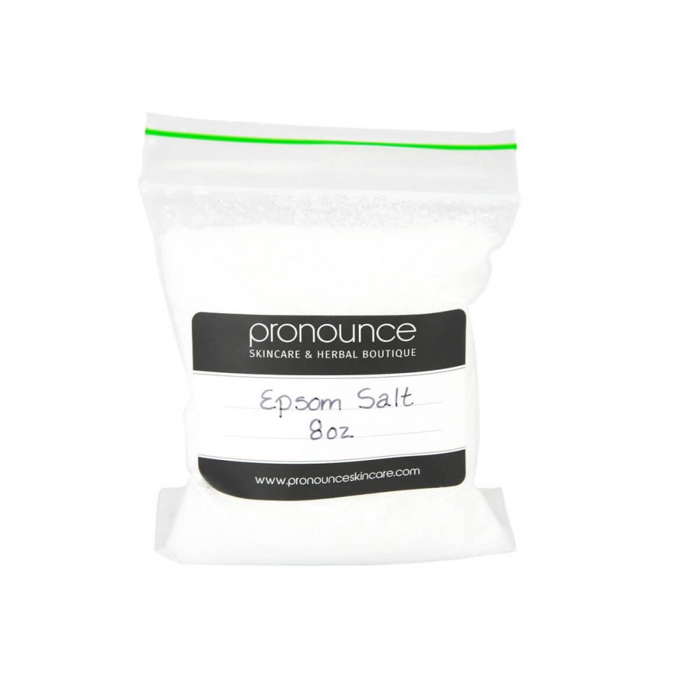 Epsom Salt 8oz Pronounce Skincare & Herbal Boutique