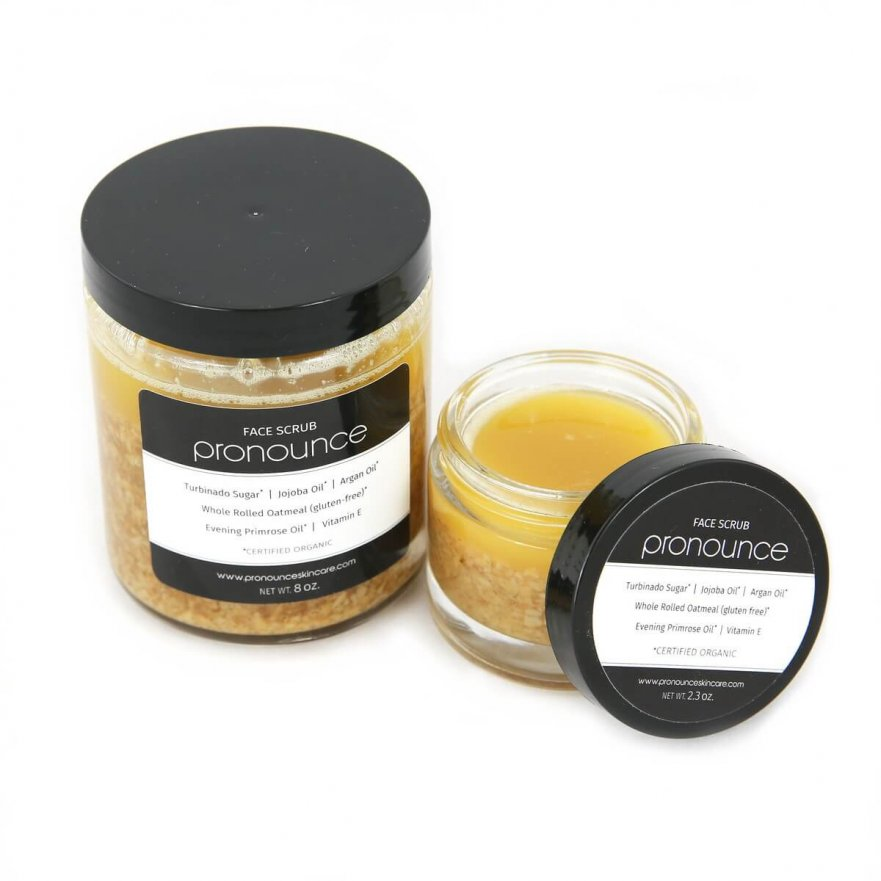 Face Scrub 2 Sizes Pronounce Skincare & Herbal Boutique-01