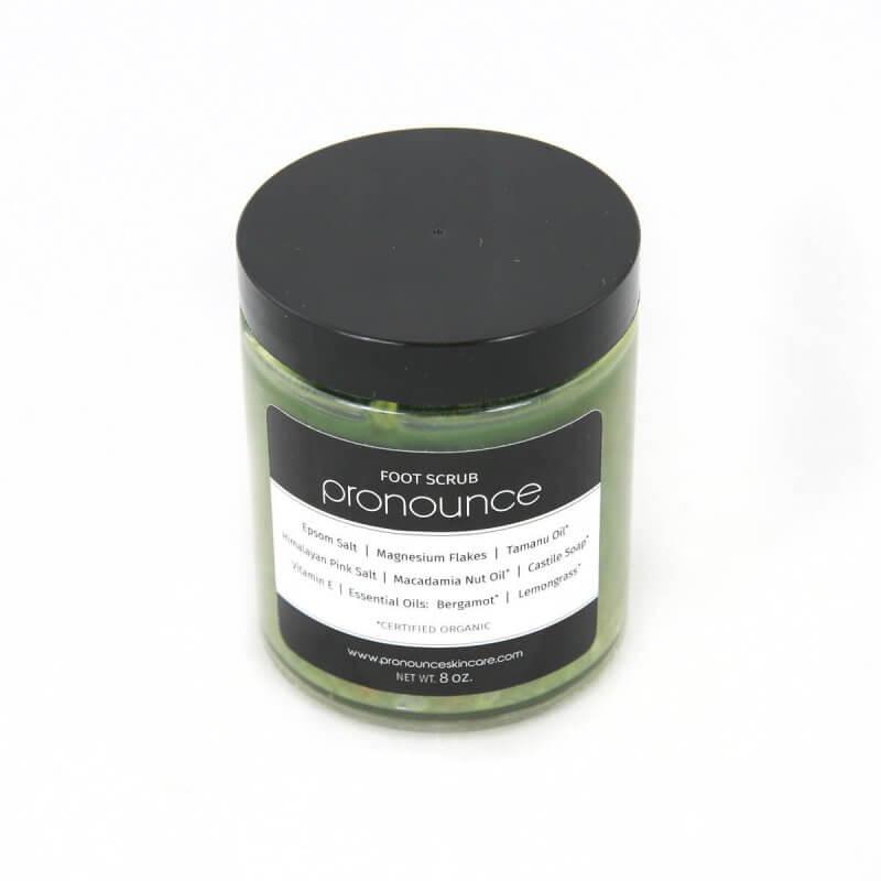 Foot Scrub 8oz Pronounce Skincare & Herbal Boutique