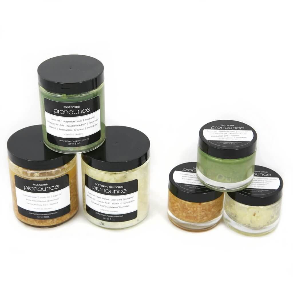 Full Scrub Line All Sizes Two Sides Pronounce Skincare-02