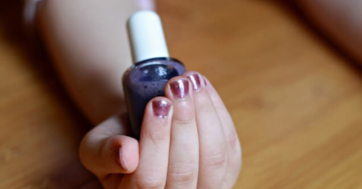 Discover how easy it is to create your own DIY non-toxic nail polish. Such a fun things for kids and adults alike!