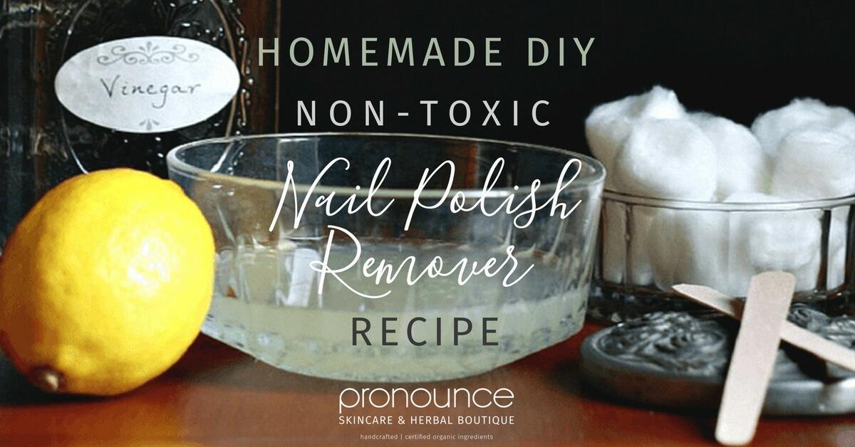 DIY Non-Toxic Nail Polish Remover • pronounceskincare.com