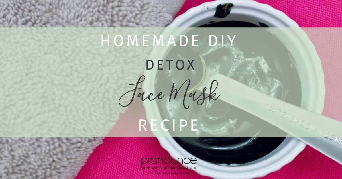 DIY Detox Face Mask Made With Charcoal, Turmeric, Witch Hazel and Whole Milk Yogurt