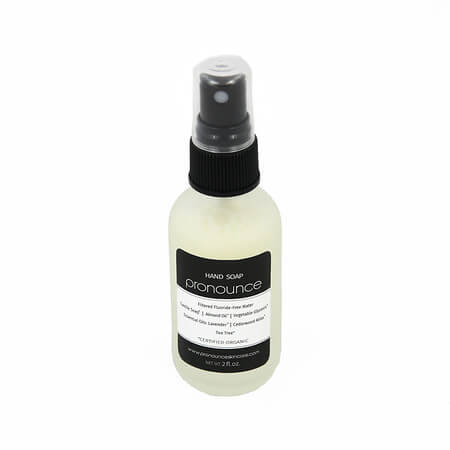 Hand Soap 2oz Glass Spray Bottle - Pronounce Skincare & Herbal Boutique