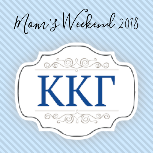 Kappa Kappa Gamma Mom's Weekend 2018
