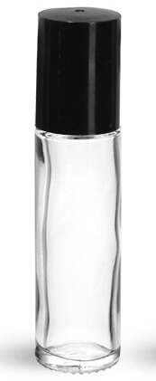 0.35oz Glass Roller Bottle - Pronounce Skincare & Herbal Boutique