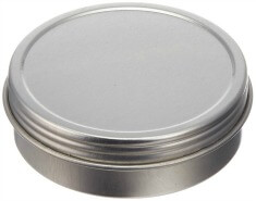 2oz Metal Tin Screw Cover - Pronounce Skincare & Herbal Boutique