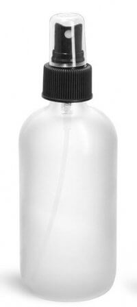 8oz Frosted Glass Bottle w:Sprayer - Pronounce Skincare & Herbal Boutique