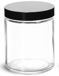 8oz Glass Jar - Pronounce Skincare & Herbal Boutique