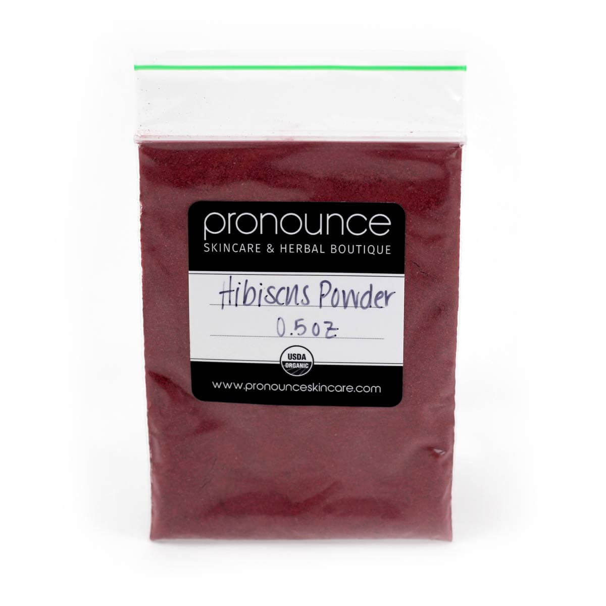 Hibiscus Flower Powder Pronounce Skincare Herbal Boutique