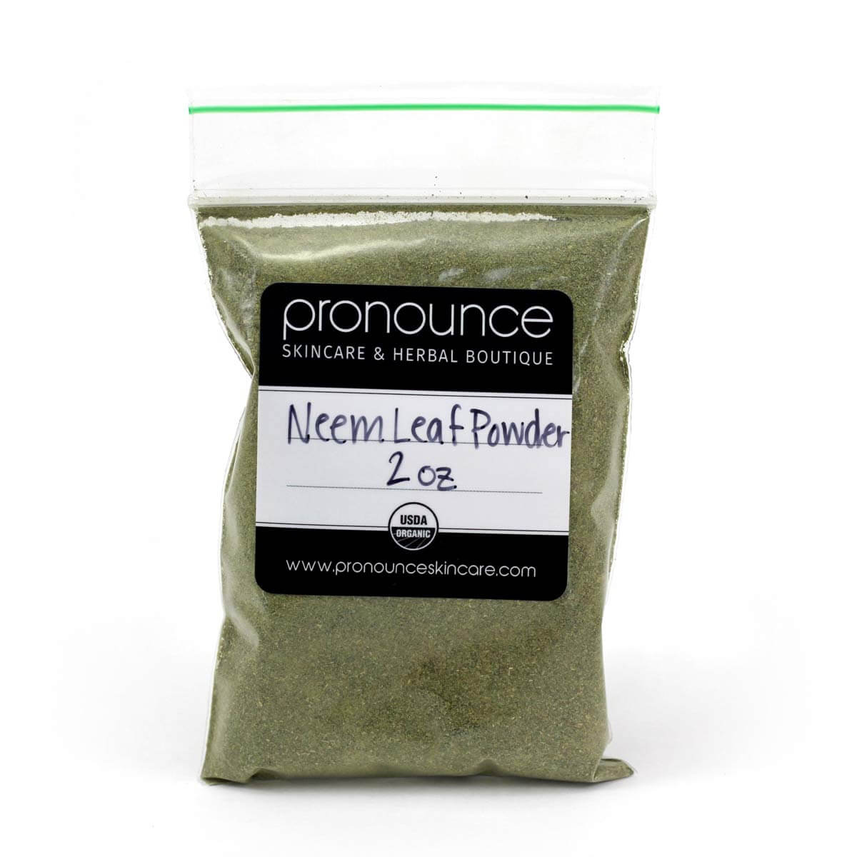 Neem-Leaf-Powder-2oz-Pronounce-Skincare-Herbal-Boutique