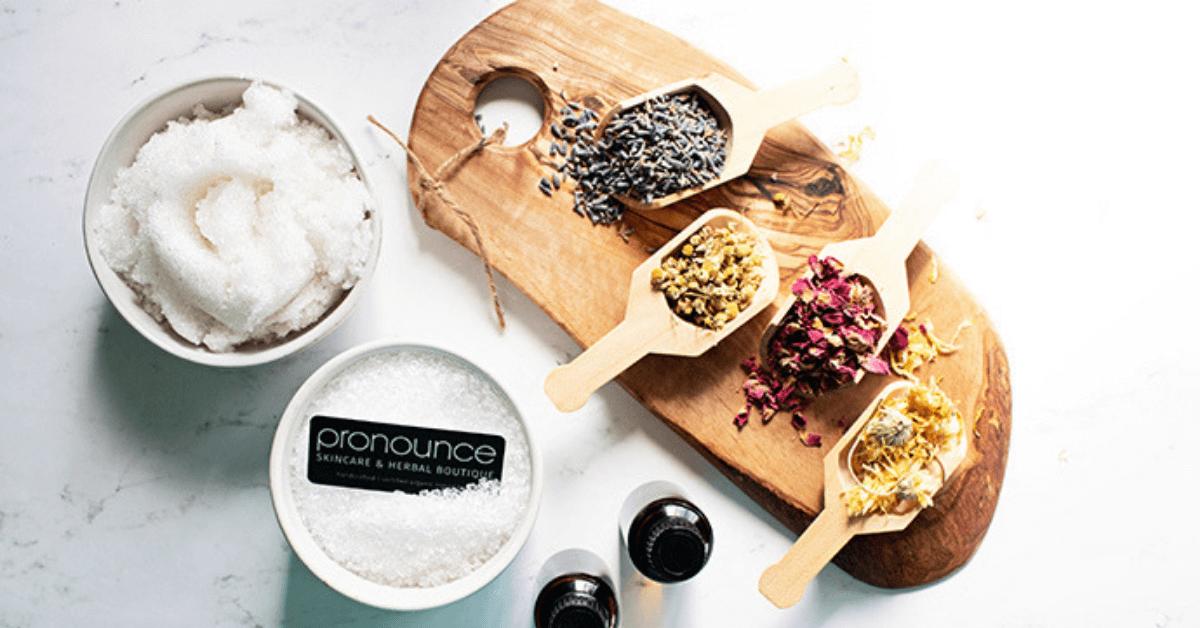 DIY Floral Bath Salts (for detox and calm