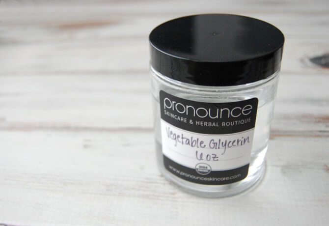vegetable glycerin - Pronounce Skincare & Herbal Boutique
