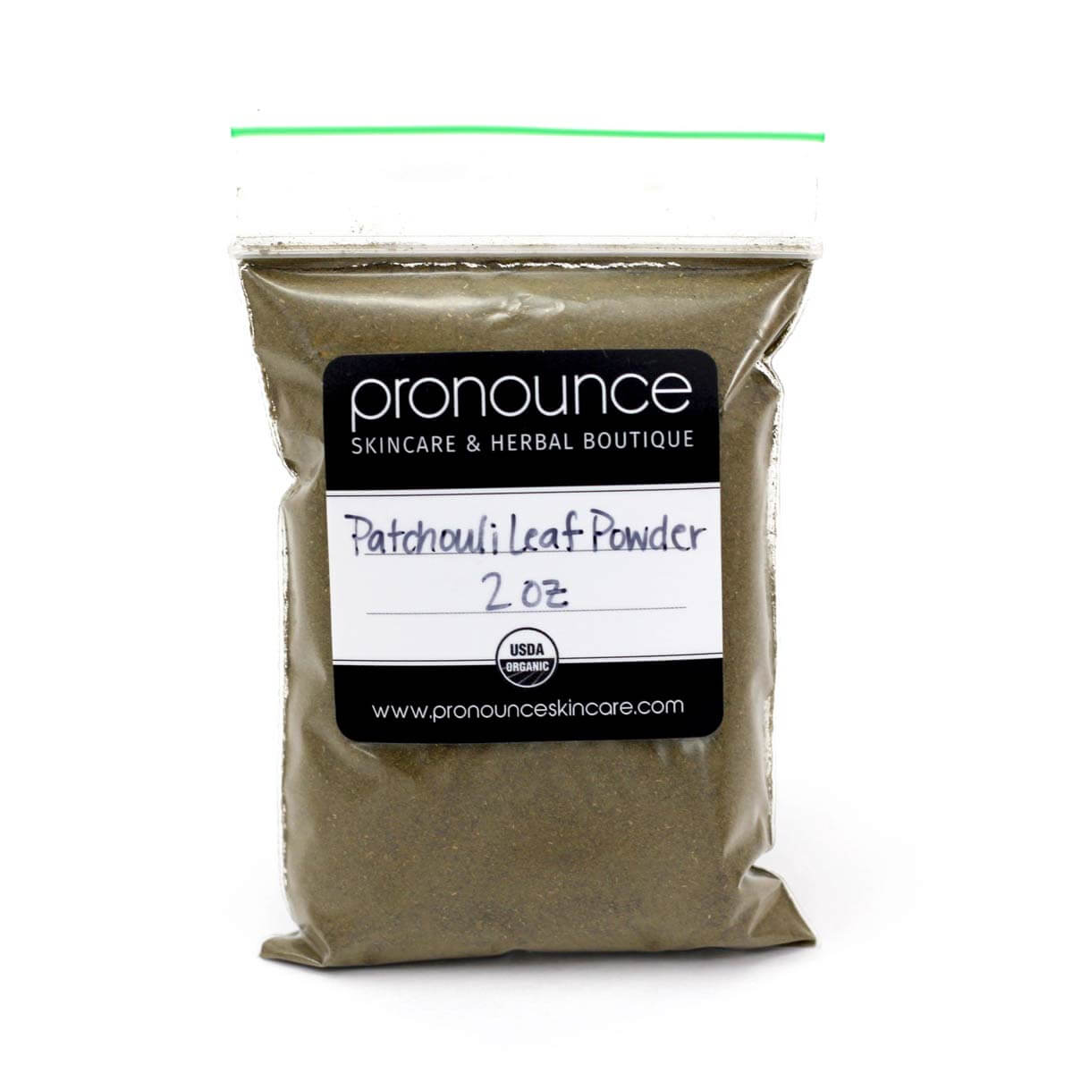 Patchouli-Leaf-Powder-2oz-Pronounce-Skincare-Herbal-Boutique