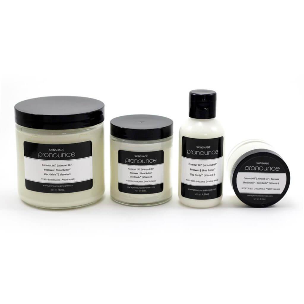 4 Skinshade products