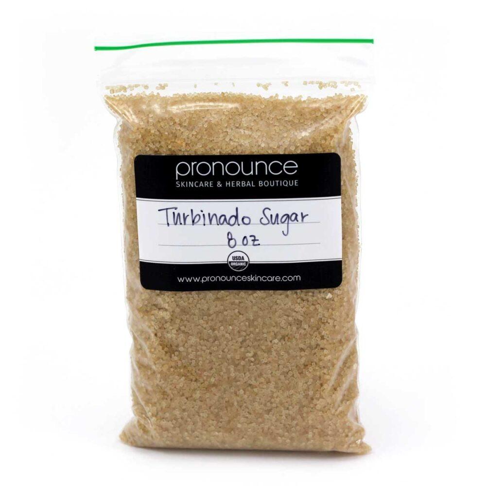 Turbinado-Sugar-8oz-Pronounce-Skincare-Herbal-Boutique