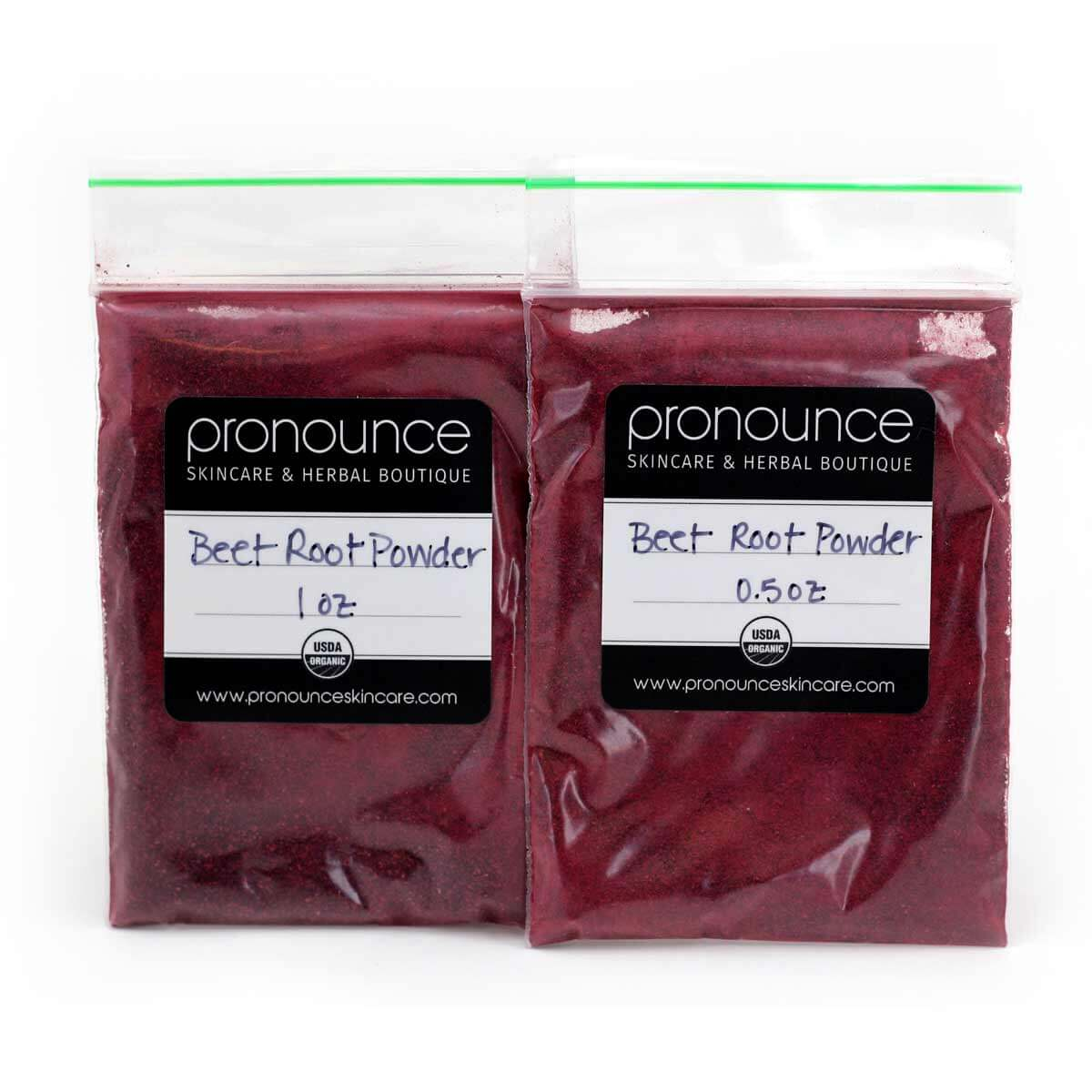 USDA Organic Beet root powder in bags-Skincare-Organic