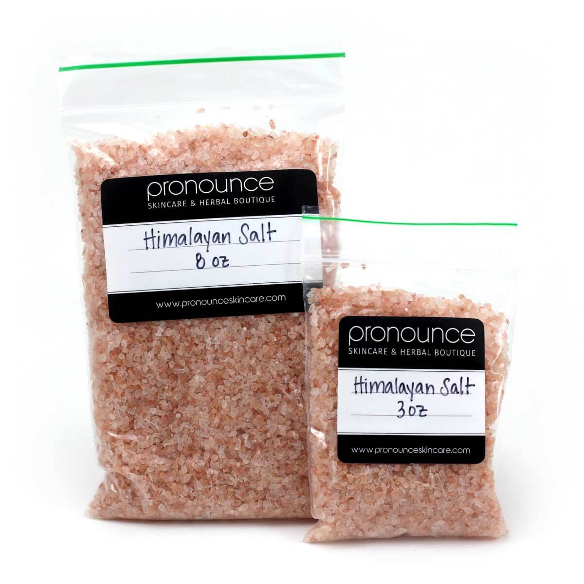 2 Bags of Himalayan Salt-Pronounce Skincare and Herbal Boutique